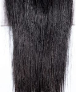 Natural Straight Closure Top